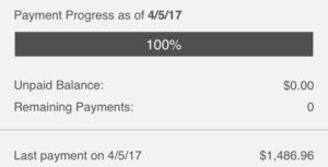 Last Payment