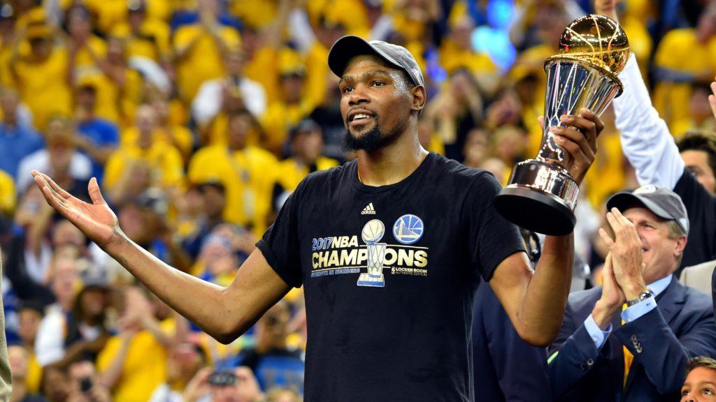 Durant MVP Trophy