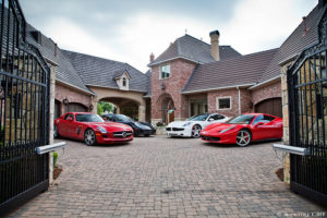 Cars and Mansion